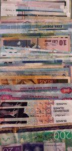 Bancnote din diferite țări