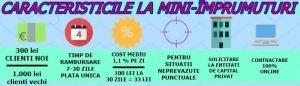 info CARACTERISTICILE LA MINI-IMPRUMUTURI